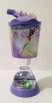 Disney Store Princess Tiana Princess & the Frog Snow Globe Dome Tumbler ... - $26.72