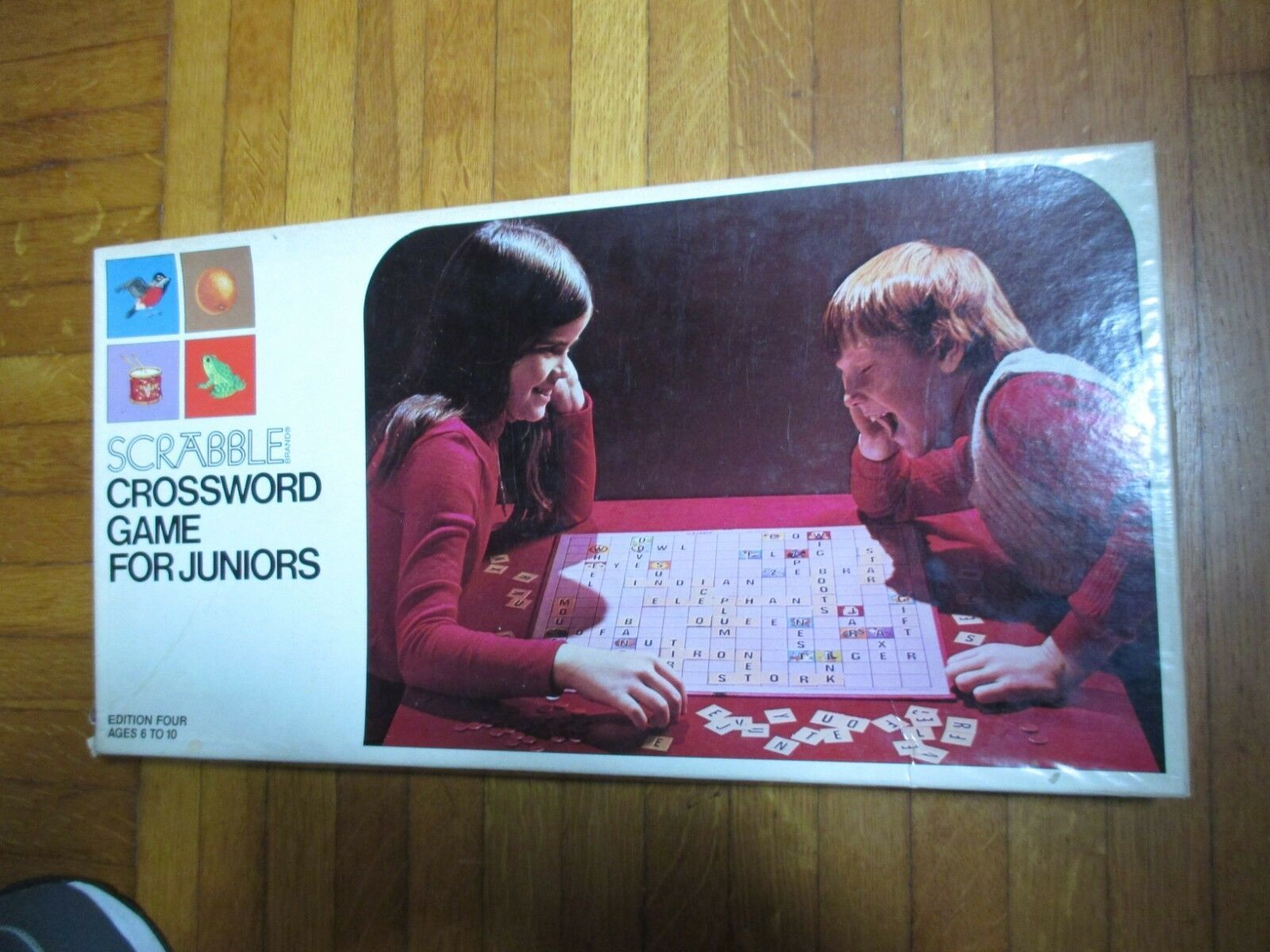 Scrabble For Juniors 4th Edition 1975 S&R Vintage Game