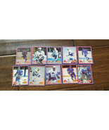 1987-88 Yum Quebec Nordiques 10 Carte Ensemble Peter Anton Stastny Miche... - $14.96