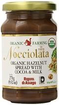 Rigoni Di Asiago Nocciolata  Hazelnut Spread, Cocoa and Milk, 9.52 Ounce... - $14.25