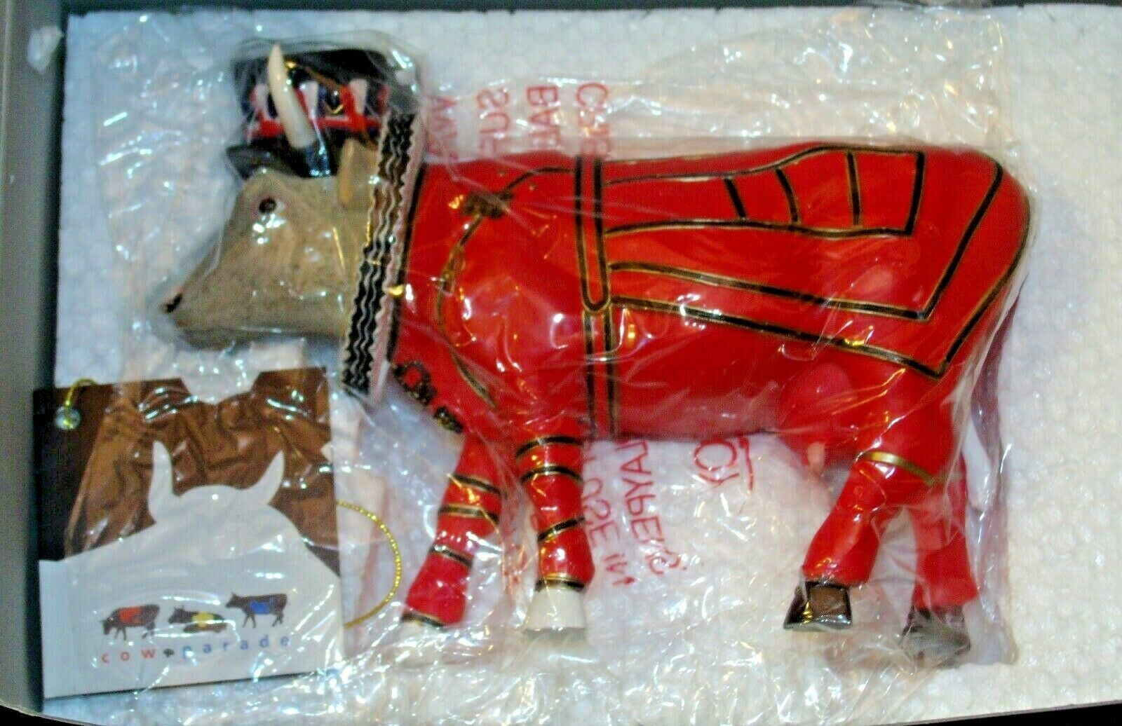 CowParade Beefeater It Ain't Natural #7427 Westland Giftware (Resin) AA-191935