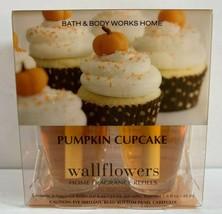 Bath & Body Works Wallflowers Fragrance Refill Bulbs 2 in pack PUMPKIN CUPCAKE - $16.78