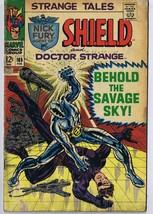 Strange Tales #165 ORIGINAL Vintage 1968 Marvel Comics Nick Fury Dr Strange - $23.22