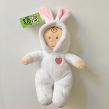 "Baby Ganz Soft Plush Doll Bunny Ears White PJs 12"" Stuffed Toddler Toy R... - $11.87"