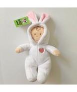"Baby Ganz Soft Plush Doll Bunny Ears White PJs 12"" Stuffed Toddler Toy R... - $11.87"