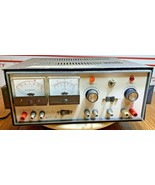 Heathkit SP-17A Regulated High Voltage Power Supply  (Powers On) With Tubes - $259.87