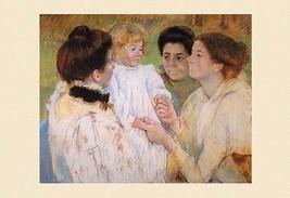 Women Admiring a Child 12x18 Poster by Mary Cassatt - €17,19 EUR