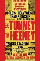 Tunney vs. Heeney 12x18 Poster - €17,19 EUR