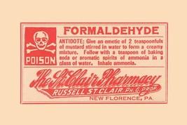 Formaldehyde 12x18 Poster - €17,19 EUR
