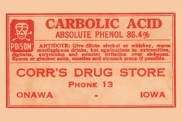 Carbolic Acid 12x18 Poster - €17,19 EUR