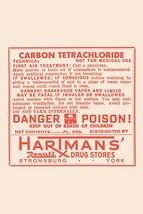 Carbon Tetrachloride 12x18 Poster - €17,19 EUR