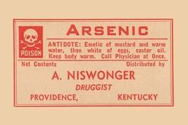 Arsenic 12x18 Poster - €17,19 EUR