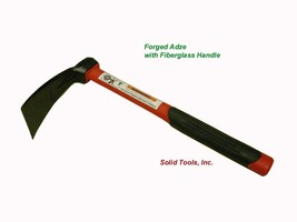 Forged Adze with Fiberglass Handle by Forgecraft USA - $28.50