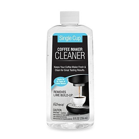Nuvera 8-Ounce Single Cup Coffee Maker Cleaner and Descaler (1) - Home & Garden