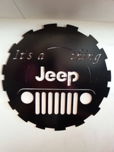 "Metal Wall Art- ""Its a Jeep Thing"" - $40.00"