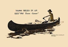 10,000 Miles In An 1922 20x30 Poster - €21,48 EUR