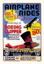 Airplane Rides: Inman Bros. Flying Circus 20x30 Poster by Anonymous - €21,48 EUR