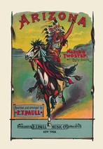 Arizona: March and Two-Step 20x30 Poster by E.T. Paull - €21,48 EUR