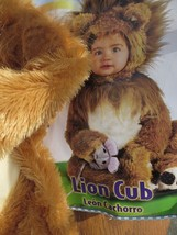 LION CUB Halloween Costume Infant 0-6 6-12 12-18 Months Noahs Ark Collec... - $46.00