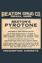Beaton's Pyrotone 20x30 Poster - €21,48 EUR