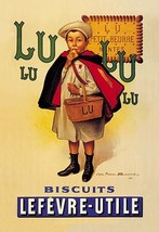 Lu Lu Biscuits 20x30 Poster by Firmin Etienne Bouisset - €21,48 EUR