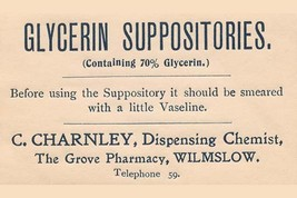 Glycerine Suppositories 20x30 Poster - €21,48 EUR
