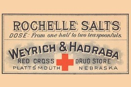 Rochelle Salts 20x30 Poster - €21,48 EUR