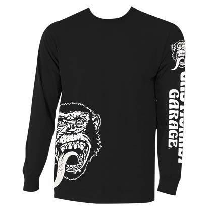 Gas monkey sidelogos ls black shirt
