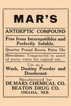 Mar's Antiseptic Compound 20x30 Poster - €21,48 EUR