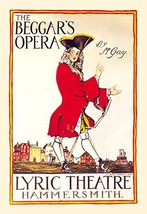 The Beggar's Opera at the Lyric Theatre 20x30 Poster by C. Lovat Fraser - €21,48 EUR