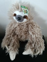 "Wild Republic Cuddlekins Three Toed Sloth Stuffed Animal Plush 16"" Long ... - $15.57"