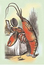 Through the Looking Glass: The Lobster Quadrille 20x30 Poster by John Te... - $24.95