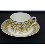 VILLEROY & BOCH VENDOME FLAT CUP AND SAUCER - PRISTINE UNUSED CONDITION - $49.00
