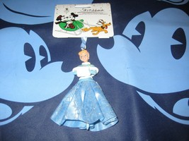 Disney Store Cinderella in Sparkly Outfit Sketchbook Ornament Brand New. - $17.59