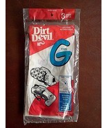 Dirt Devil Type G Bags 3 Pack - $9.41