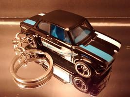 Black BMW 2002 Coupe Diecast 3D Custom Key Chain Ring Fob 2 Door - $14.54