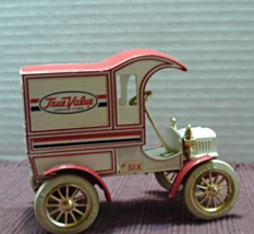 Vintage ERTL Replica 1905 Ford Delivery Truck Die Cast Metal Coin Bank - $11.05