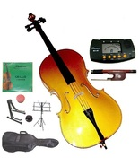 Crystalcello 4/4 Size Gold Cello with Carrying Bag and Bow - $145.00
