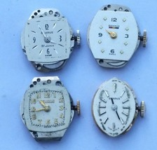 Lot of Ticking Ladies Watch Movements Benrus 17... - $24.99