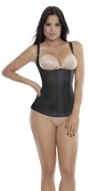 Ann Michell Semi Vest Latex Waist Cincher (32, Black) - $48.51