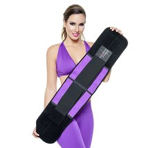 Ann Michell 4025 Fitness Waist Girdle With Latex (34-SMALL, Purple) - $38.21