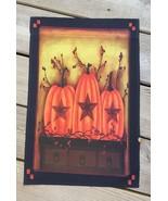KLY1148000- Primitive Fall Pumpkin Garden Flag - $8.50