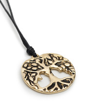Tree Of Life Handmade Brass Necklace Pendant Je... - $9.89