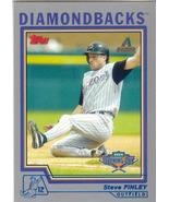 Steve Finley ~ 2004 Topps Opening Day #23 ~ Diamondbacks - $0.20