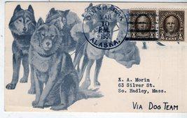 Stamps - U. S. Post Card- two 1/2 cent stamps, Nathen Hale Quinhagak, Al... - $1.75