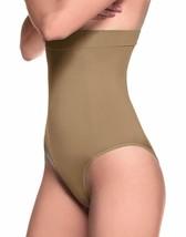 Lupo Loba Women's High Waist Brief Shapewear, X-Large Chocolate - $41.05