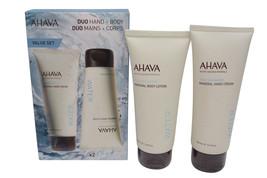 AHAVA Deadsea Water Mineral Hand & Body Cream Duo - $46.81