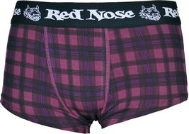 Lupo Red Nose Mens Boxer Briefs/Sunga Trunks Bordeaux Wine Medium - $9.59