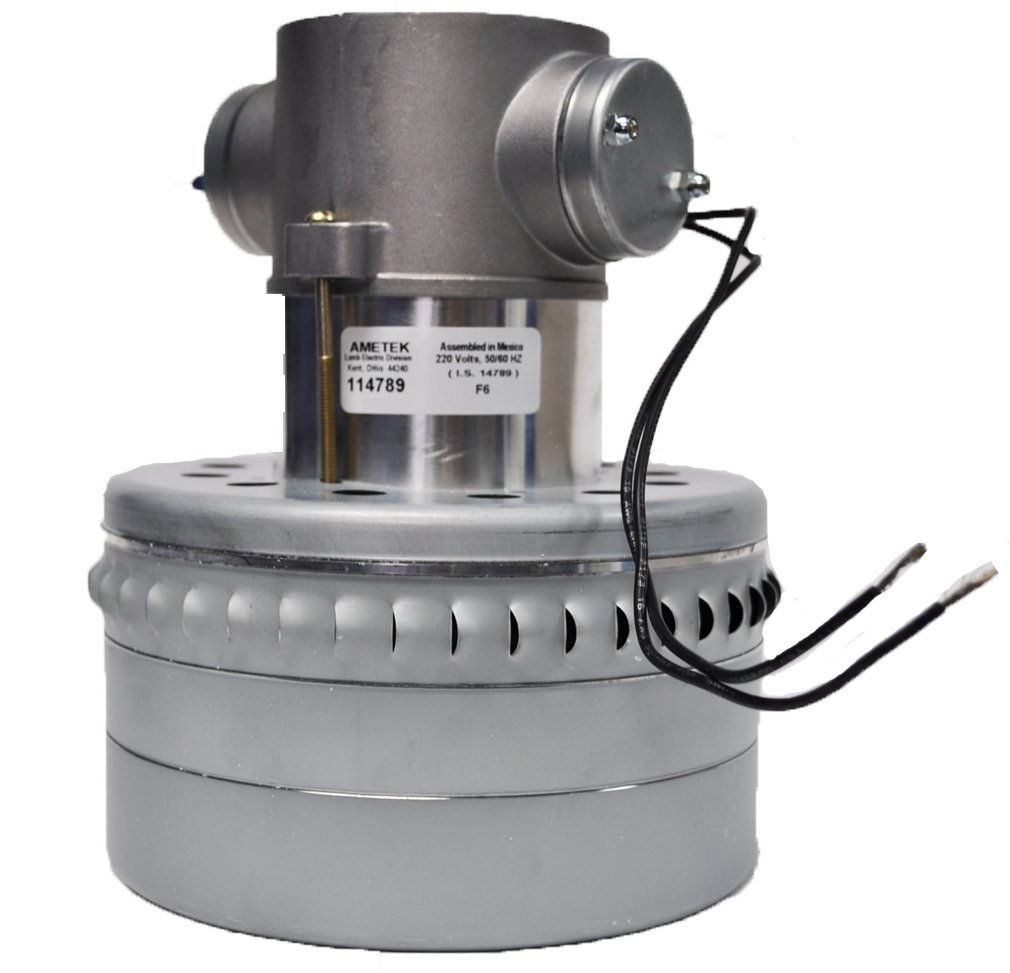 Ametek Lamb Vacuum Blower Motor 240 Volts 114789