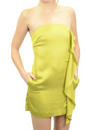 4 NWT BCBGeneration Side Ruffle Mini Strapless ... - $99.30